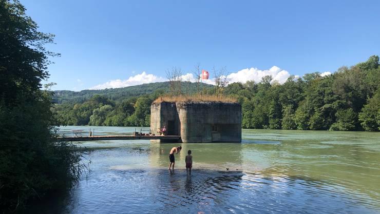 Zu Besuch im Bunker von Hans Kohler unterhalb von Kaiserstuhl