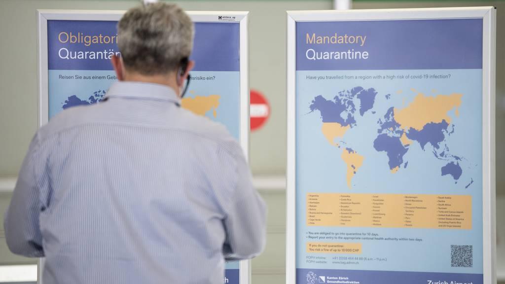 Die EU will einheitliche Grundlagen für Einreisebeschränkungen und Quarantänelisten schaffen (Symbolbild).