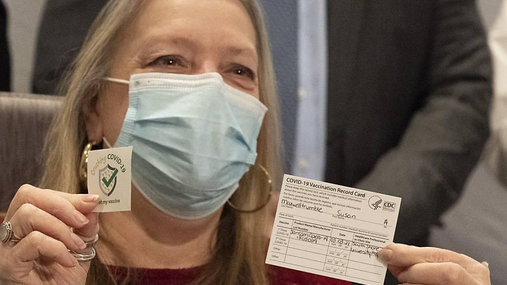 Umfrage: Impfbereitschaft in den USA seit September gestiegen