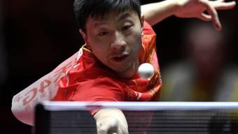 Der Weltranglisten-Erste Fan Zhendong ist an den Tischtennis-WM in den Achtelfinals gescheitert