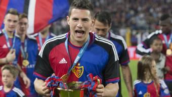 Am Wochenende jubelte Fabian Schär letztmals über einen Meistertitel mit dem FCB: Er wechselt in die Bundesliga.