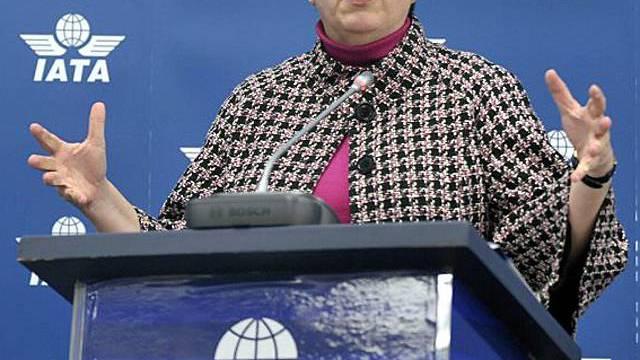 Napolitano spricht in Genf vor Vertretern der Fluggesellschaften