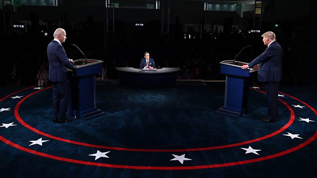 Zweite TV-Debatte zur US-Präsidentenwahl offiziell abgesagt
