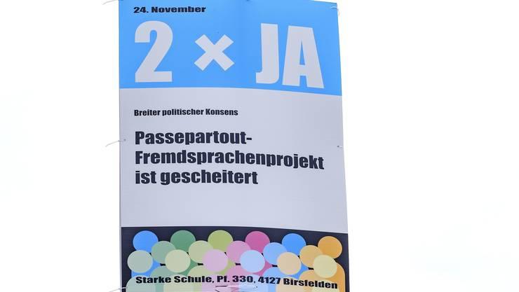 """Französischunterricht als Abstimmungsthema: Die Baselbieter stimmten im November ab, ob das Lehrmittelobligatorium für das umstrittene Lehrbuch """"Mille feuilles"""" bleibt."""