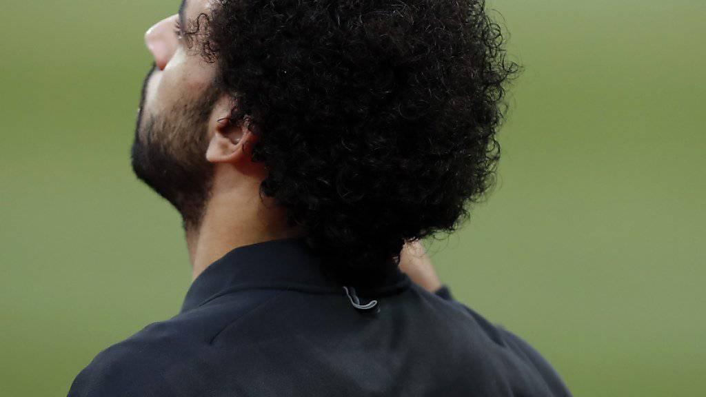Mohamed Salah tritt mit seiner Nationalmannschaft am Afrika Cup 2019 als Gastgeber auf