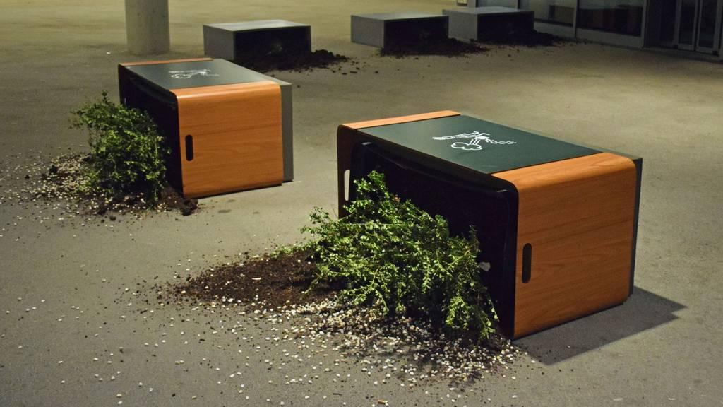 Unbekannte wüten bei der Mall of Switzerland