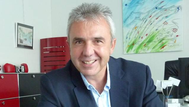 Urs Kessler, CEO der Jungfraubahnen, hat am Forum Botia in Bözen referiert.
