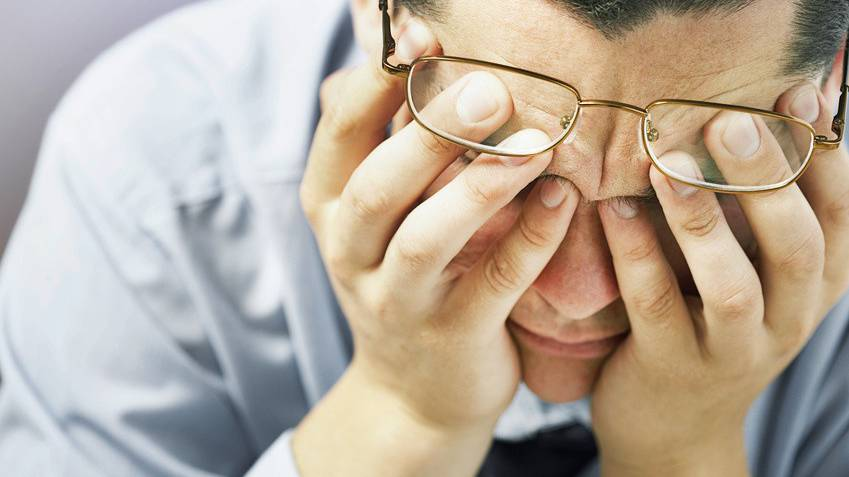 Immer mehr Menschen sind bei der Arbeit gestresst