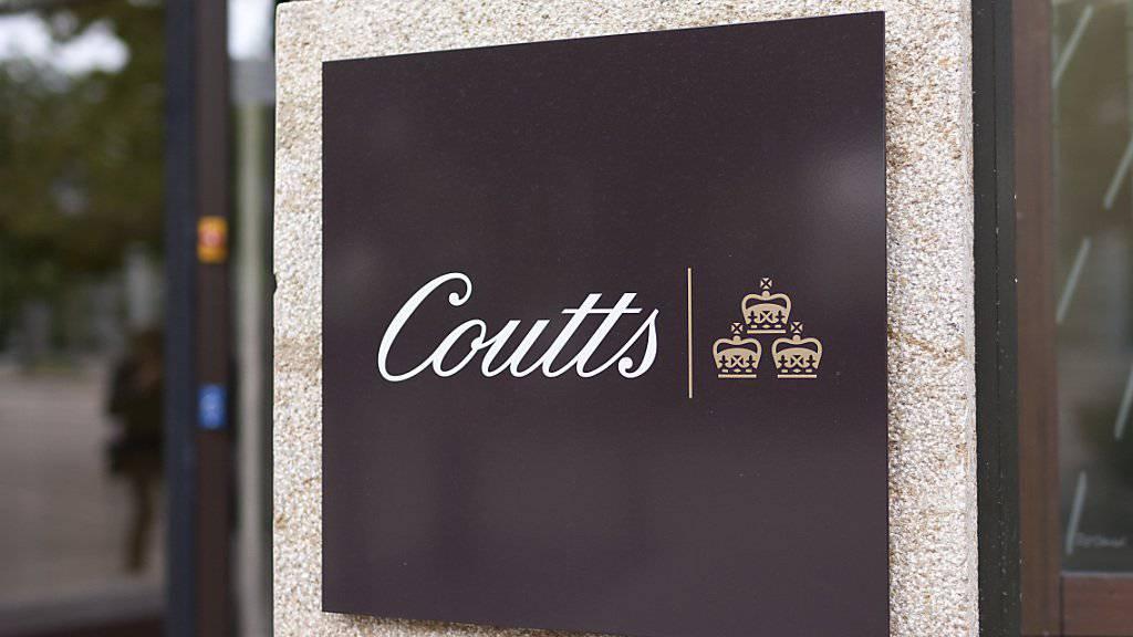 Die Schweizer Privatbank Coutts wird in Deutschland zur Kasse gebeten.