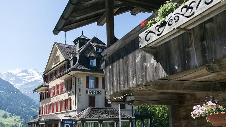 Den Schweizer Hotels haben im September vor allem ausländische Gäste mehr Logiernächte beschert . (Archiv)