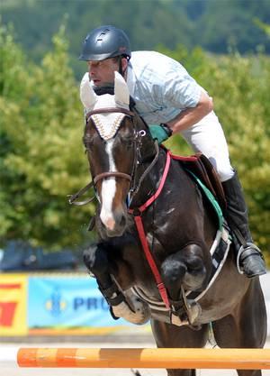 Tobias Widmer (Herbetswil) wurde auf For A Fun Time 4. in der Prüfung 12b.