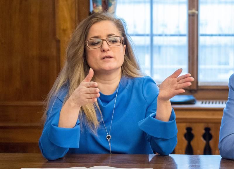 Maria Pappa (Bild: Urs Bucher/Tagblatt)