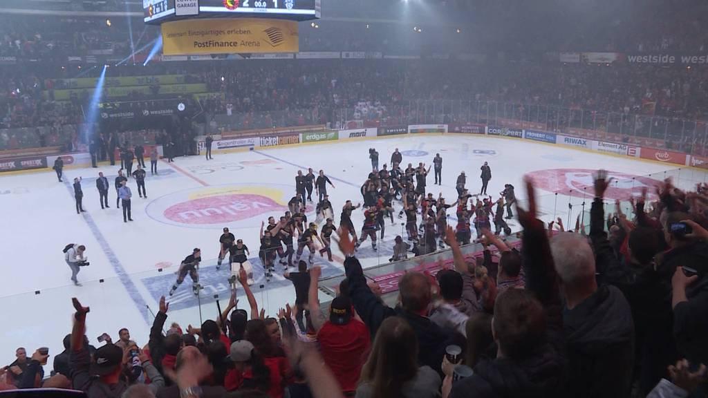 Ein Hockeykrimi bis zum erlösenden Schlusspfiff