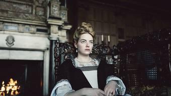 """Emma Stone in """"The Favourite"""": Die Britin darf sich Hoffnungen auf einen Nebenrollen-Oscar machen."""