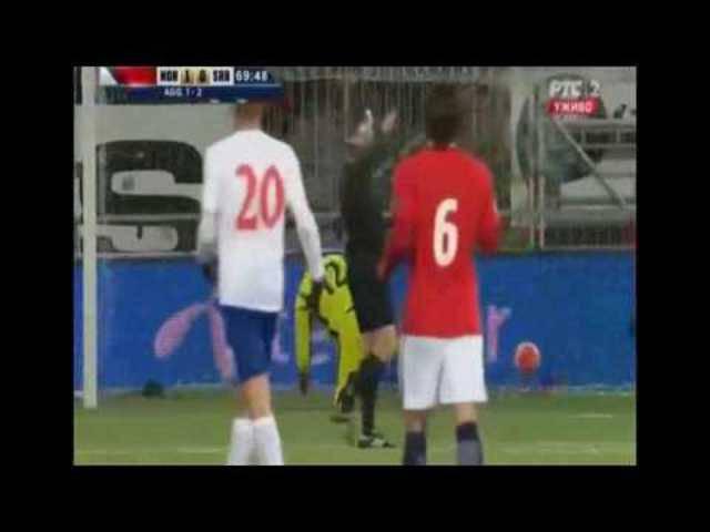 Mohamed Elyounoussi erzielte bei der norwegischen U-21 ein schönes Tor