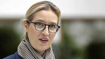 Die AfD-Spitzenkandidatin Alice Weidel im deutschen Wahlkampf. (Archivbild)