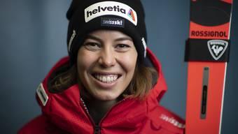 Blickt zuversichtlich auf den Start in Sölden und die weitere Saison: Michelle Gisin