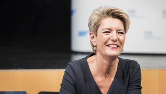 Doris Kleck: «Bemerkenswert ist, was die Sprache aus Karin Keller-Sutter macht. In der Deutschschweiz gilt sie als kalt und unnahbar. In der Romandie als charmant und humorvoll.»