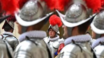 Die Schweizer Garde im Vatikan ist bei jungen katholischen Männern nach wie vor beliebt. (Archivbild)