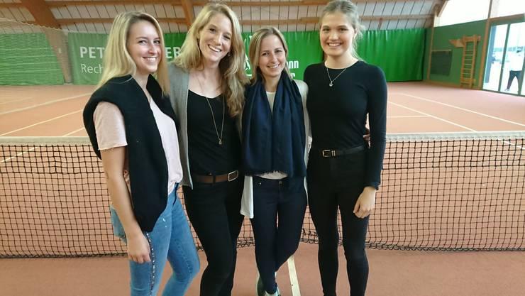(v.l.n.r.) Alexandra Bisig, Denise Federle, Amanda Bisig und Lydia Lyons
