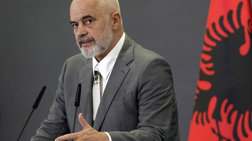 Edi Rama zum dritten Mal in Folge Regierungschef in Albanien