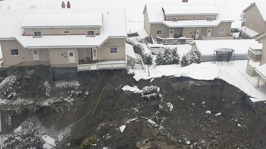 Suche nach Überlebenden in norwegischem Erdrutschgebiet geht weiter