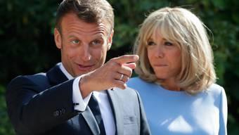 Gern an der Macht: Emmanuel und Brigitte Macron.