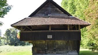 Die Gesamtkosten für die Sanierung des Bohlenblockbau-Speichers von 1588 belaufen sich auf 77'000 Franken.