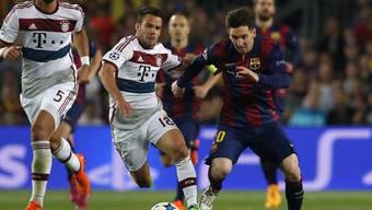 Champions League Halbfinal: Barcelona - Bayern-München