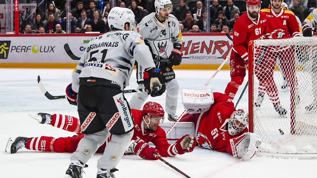 Sechs Spiele und sechs Siege von Fribourg gegen Lausanne