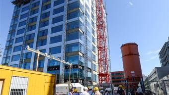 Der erste (und letzte?) von beiden Basel gemeinsam finanzierte Bau der Universität: das neue Biozentrum unweit des Kinderspitals.