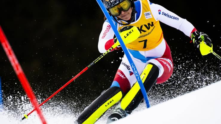 Wendy Holdener hat sich beim Slalom-Training in Saas-Fee verletzt