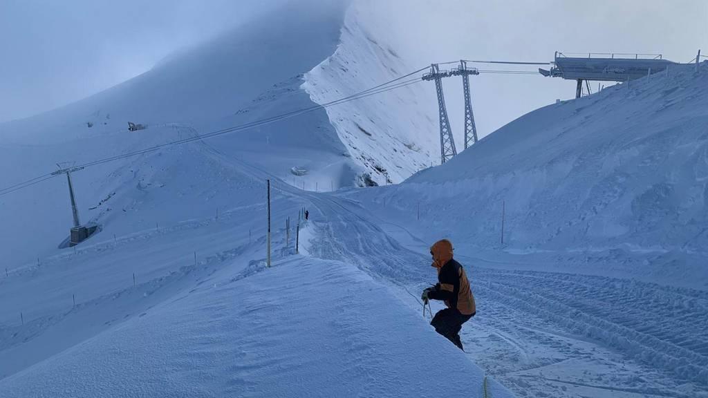 Weisse Pracht auf dem Titlis – Am Samstag beginnt die Skisaison