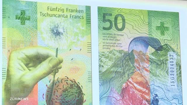 Das ist die neue 50-Franken-Note