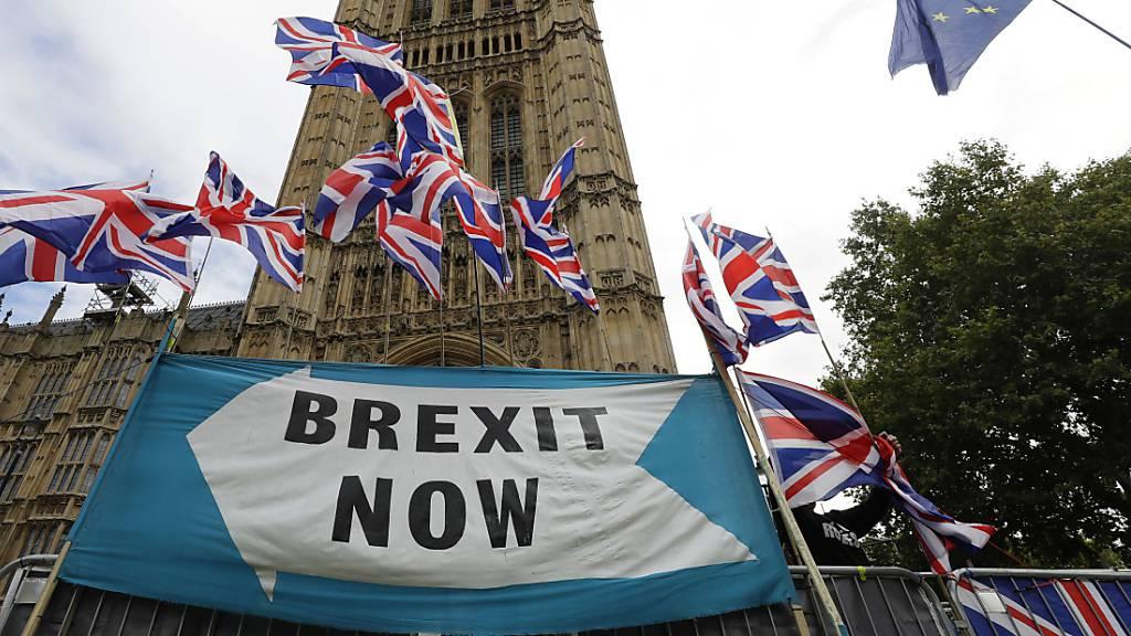 Die EU signalisiert nach London, dass sie offen für eine erneut Verschiebung des Brexits ist und keinen EU-Austritt Grossbritanniens ohne einen Vertrag wünscht. (Symbolbild)