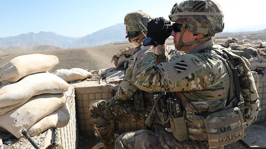 USA verlegen weitere Truppen in die Region