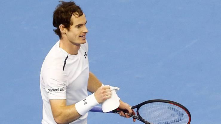Andy Murray: «Ich habe so lange gebraucht, bis ich ganz oben angekommen bin. Jetzt will ich auch oben bleiben.»