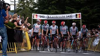 Das Lotto-Soudal-Team fährt in Polen in Gedenken an den verstorbenen Bjorg Lambrecht weiter