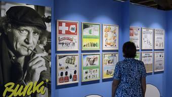 Das Maison de dessin de presse in Morges VD zeigt Karikaturen der Ende 2016 verstorbenen Zeichner Burki und Mix & Remix.