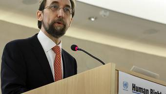 UNO-Hochkommissar für Menschenrechte Said al-Hussein (Archiv)
