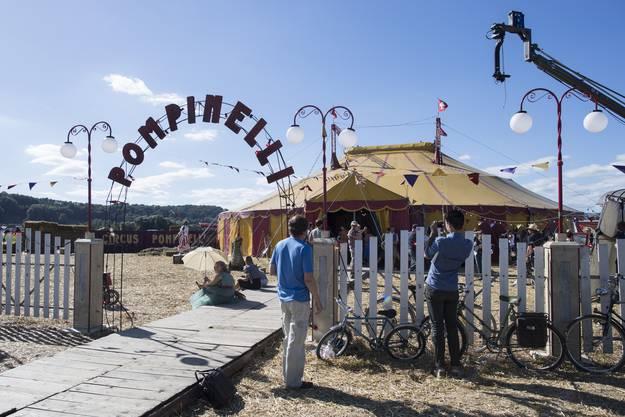 Papa Moll-Film: Impressionen vom Dreh in Bad Zurzach