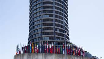 Die Bank für Internationalen Zahlungsausgleich hat ihren Sitz in Basel.K. Nars