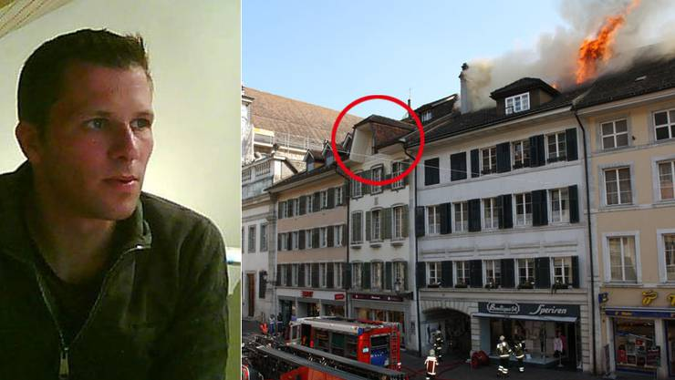 Die Wohnung von Markus Affolter brannte vollständig aus