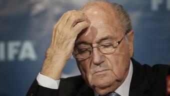 Der suspendierte FIFA-Präsident Sepp Blatter ist gesundheitlich angeschlagen