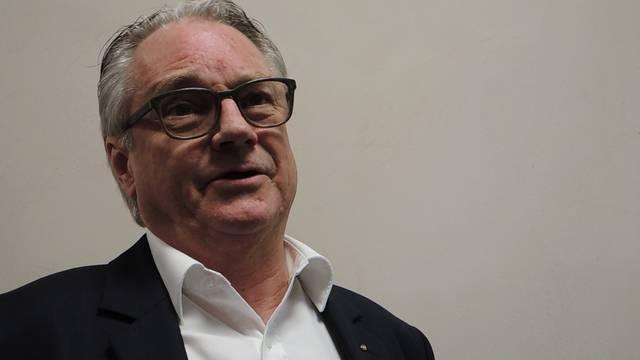 «Zusammen aufs Gerüst klettern»: Der abtretende Badener FDP-Präsident Mattias Bernhard blickt auf kühne Aktionen zurück.