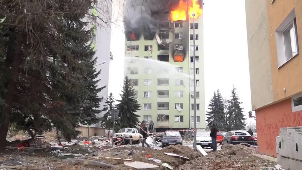 Slowakei: Mindestens fünf Tote nach Gasexplosion