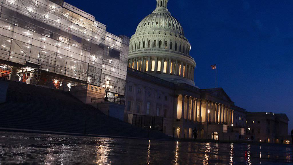 US-Repräsentantenhaus billigt Haushaltseinigung