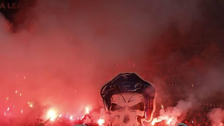 Nicht nur in der Schweiz, auch in Griechenland wurde am Wochenende ein Spiel abgebrochen