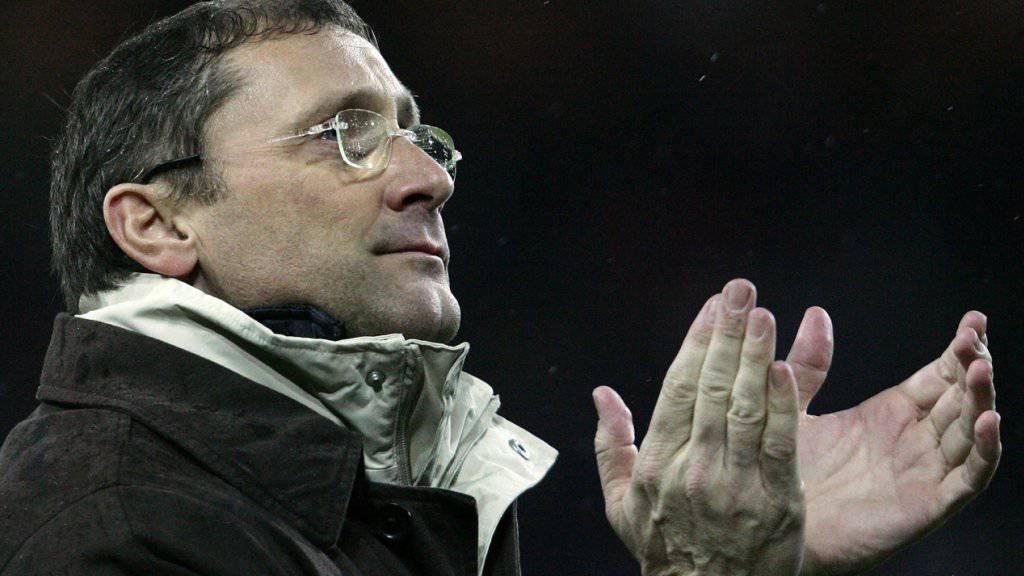 War der letzte Trainer, der einen St. Galler Auswärtssieg in Bern beklatschen durfte: Heinz Peischl
