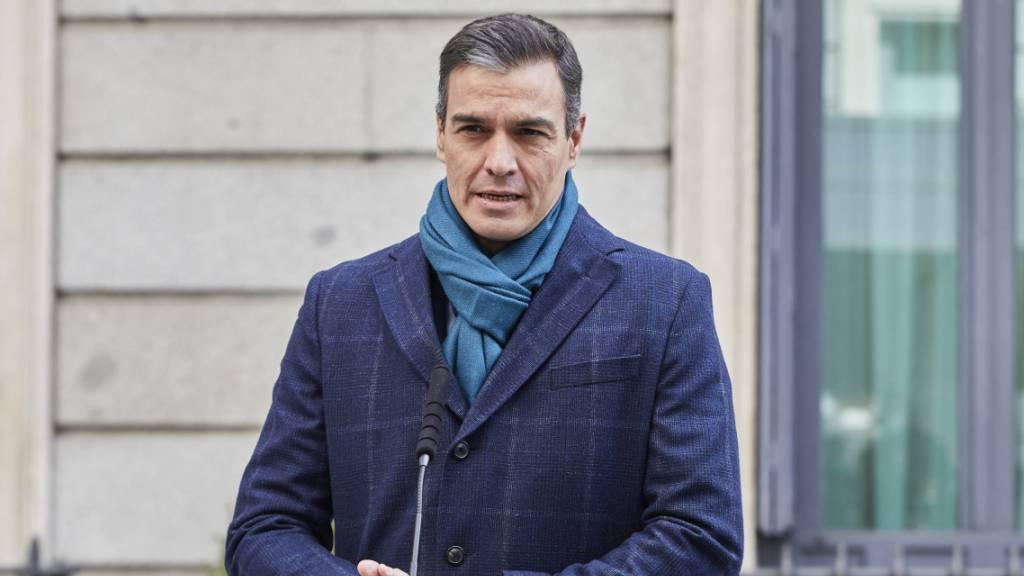 Sánchez zu Putschaufrufen von Ex-Militärs: Diktatur-«Nostalgiker»